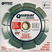 """4.5"""" Quasar Tuckpointer """"Silver"""" Segmented Diamond Blade"""