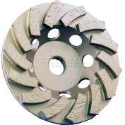 """Edmar 4"""" 14 Segmented Turbo Cup Grinding Wheel"""