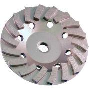 """Edmar 4.5"""" 18 Segmented Turbo Cup Grinding Wheel"""