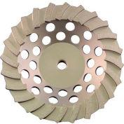"""Edmar 7"""" 24 Segmented Turbo Cup Grinding Wheel"""