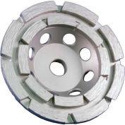 """Edmar 4"""" Double-Rim Cup Grinding Wheel"""