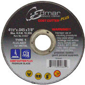 "Edmar Abrasive Company 05867 Cut-Off Wheel T1 4-1/2"" x .045"" x 7/8"" 60 Grit Diamond Grain - Pkg Qty 50"