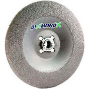 "Edmar Abrasive Company 12042 Cut-Off Wheel T1 4-1/2"" x .060"" x 7/8"" 50 Grit Diamond Grain"