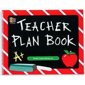 """Teacher Created Resources Plan Book 2093, 12"""" x 9-1/2"""", White, 1 Each"""