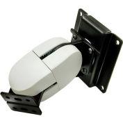 Ergotron® 100 Series Double Pivot Monitor Mount, Black/Gray