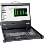 "1U Rackmount KVM Console w /  19"" Monitor / Touchpad / Keyboard"