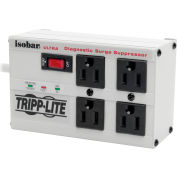 Isobar Ultra Surge Protector/Suppressor 4 Outlets 6' Cord 3330 Joules w/ LED