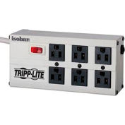 Tripp Lite ISOBAR6 Isobar Premium Surge Protector/Suppressor w/ 6 Outlets, 6' Cord, 3330 Joules