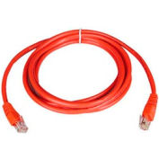 5ft Cat5e 350MHz Red Molded Patch Cable RJ45M/M