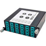 Tripp Lite 40Gb to 10Gb Breakout Cassette, Fiber Optic