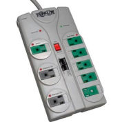 Tripp Lite TLP808NETG Eco Energy-Saving Surge Suppressor 8 Outlets 8' Cord 2160 Joules