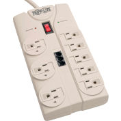 Protect It! Surge Protector/Suppressor 8 Outlets 8' Cord 2160 Joules