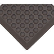 "Wearwell 503 Anti-Fatigue Domed Rejuvenator Mat 24""X60"" Black"