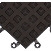 "Wearwell 557 ErgoDeck ESD Solid 18""X18"" Black-CS 10"