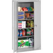 "Tennsco Standard Storage Cabinet 7224-LGY  - Welded 36""W X 24""D X 72""H, Light Grey"