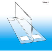 """Thermo-Formed Shelf Dividers, 3""""H, 10"""" Depth - Pkg Qty 50"""