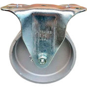 "Fairbanks Regular Duty Rigid Caster 31-4-IW - Semi-Steel 4"" Dia. - Plain Bearing - 400 Lb. Cap."