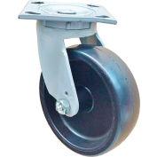 "Fairbanks Sanitation Container Swivel Caster 322-5-PHP - Polyolefin 5"" Dia. - 650 Lb. Cap."