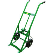 """Fairbanks Drum Truck with Kickstand 9292-HC - 10"""" Mold-On Rubber Wheels - 1000 Lb. Capacity"""