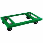 "Fairbanks Angle Iron Dolly AI-1627-4HR - 16"" x 27"" - 4"" Hard Rubber Wheels - 1600 Lb. Capacity"