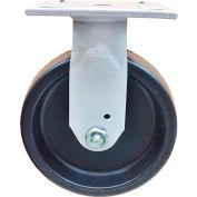 """Fairbanks Sanitation Container Rigid Caster N32-5-PHP - Polyolefin 5"""" Dia. - 650 Lb. Cap."""