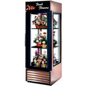 """True® G4SM-23FC Floral Merchandiser 1 Section - 27-1/2""""W X 32-1/2""""D X 78.63""""H"""