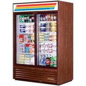 "True® GDM-47 Refrigerated Merchandiser 2 Section - 54-1/8""W X 29-5/8""D X 78-5/8""H"