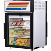 """True® GDM-5PT Countertop Pass-Thru Refrigerated Merchandiser Lam Vinyl 24""""W X 23-7/8""""D"""