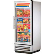 "True® T-12FG Freezer Reach-In 1 Section - 24-7/8""W X 23-3/8""D X 62-3/8""H"