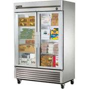 "True® T-49FG Freezer Reach-In 2 Section - 54-1/8""W X 29-3/4""D X 78-3/8""H"