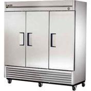 "True® T-72F Freezer Reach-In 3 Section - 78-1/8""W X 29-1/2""D X 79-1/8""H"