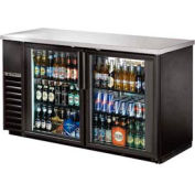 """True® TBB-24-60G Back Bar Cooler 2 Section - 61-1/8""""W X 24-1/4""""D X 35-5/8""""H"""