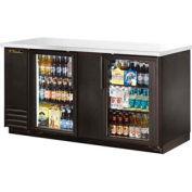 """True® TBB-3G Back Bar Cooler 2 Section - 69-1/8""""W X 27-3/4""""D X 37""""H"""