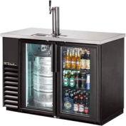 """True® TDB-24-48G Draft Beer Cooler Door Type - 49-1/8""""W X 24-1/2""""D X 35-5/8""""H"""