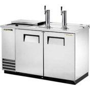 "True® TDD-2CT-S Draft Beer Cooler - 58-7/8""W X 27-1/8'""D X 38-1/2""H"