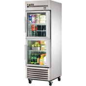True® TS-23G-2 Reach In Refrigerator 23 Cu. Ft. Stainless Steel