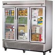"True® TS-72FG Freezer Reach-In 3 Section - 78-1/8""W X 29-3/4""D X 79-1/8""H"