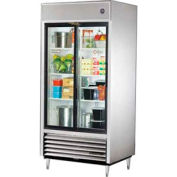 True® TSD-33G-LD Reach In Refrigerator 33 Cu. Ft. White