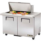 "True® TSSU-48-15M-B Mega Top Sandwich/Salad Unit - 48-3/8""W X 34-1/8""D X 40-3/8""H"