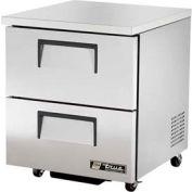 "Undercounter Refrigerator 33 - 38°F - 27-5/8""W x 30-1/8""D - TUC-27D-2-ADA"