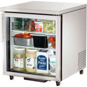 "Undercounter Refrigerator 33 38°F 27-5/8""W x 30-1/8""D - TUC-27G-ADA"