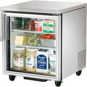 "Undercounter Refrigerator 33 38°F 27-5/8""W x 30-1/8""D x 29-3/4""H - TUC-27G"