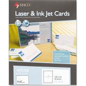 "Maco® UnRule Index Cards ML8575, 4"" x 6"", White, 100/Box"
