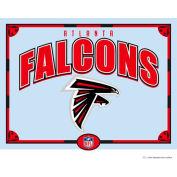 """The Memory Company NFL Logo Mirror - Atlanta Falcons, 23""""W x 18""""H"""