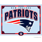 "The Memory Company NFL Logo Mirror - New England Patriots, 23""W x 18""H"