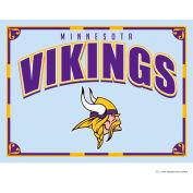 "The Memory Company NFL Logo Mirror - Minnesota Vikings, 23""W x 18""H"