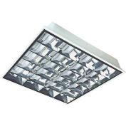 Straits Lighting 13070584 LED Deep Cell Parabolic Troffer, Frosted, 100/277V, 40W, 4000K