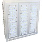 """Straits Lighting 15130002 LED Surface Mounted Canopy, 100/277V, 150W, 5000K, 14"""" x 14"""" x 6-1/2"""""""