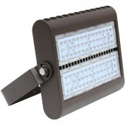 Straits 30180096 LED Flood Light, 80W, 8590 Lumens, 5000K, Bronze
