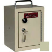 "Harloff Narcotics Box, Small, Single Door, Single Lock, 7""W x 7""D x 10""H - Sand"
